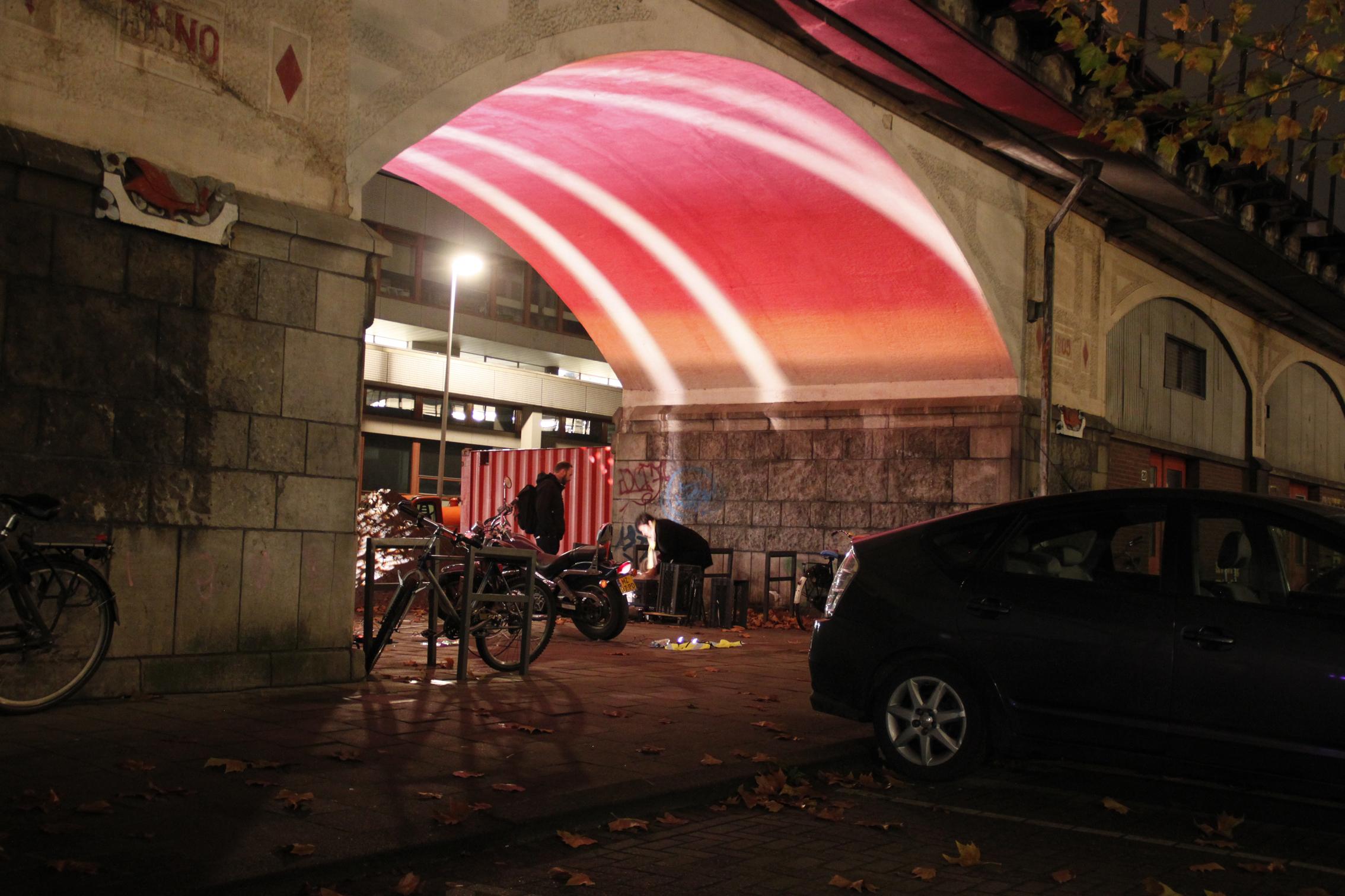 Studio arntzen lighting design hofbogen in rotterdam